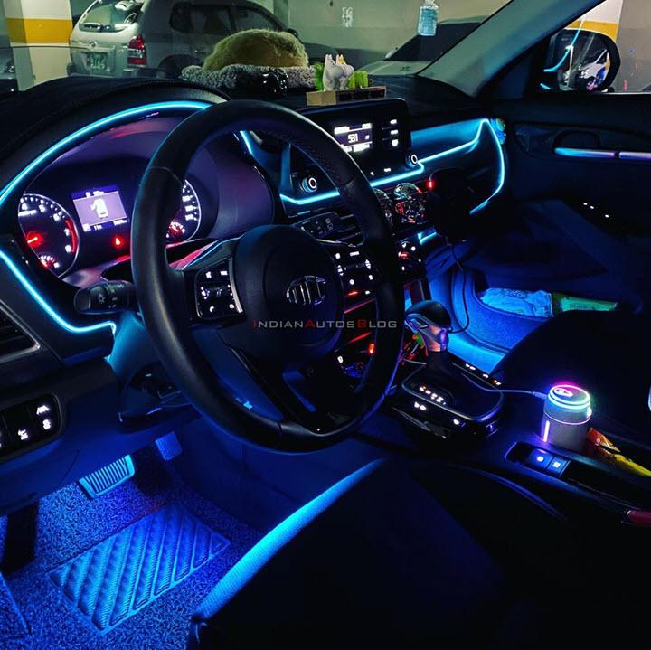 Kia Seltos độ cực chất theo phong cách Lamborghini