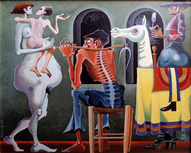 Josep Maria Rovira Brull cuadro surrealista