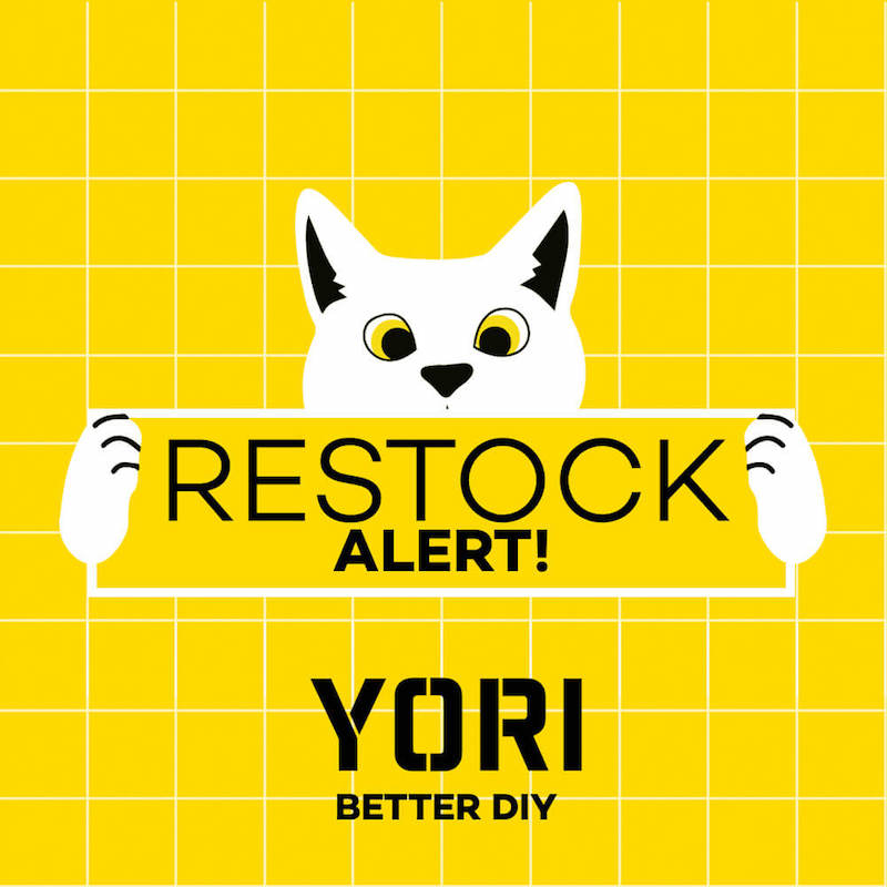 YORI restocks its best-selling pieces, now available at SM Home branches nationwide