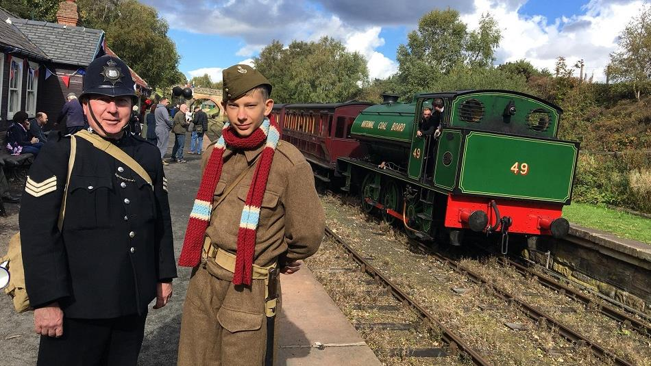 Kynren 2019 Review & A Summer of Historic Events | #Durham19  - 1940s Tanfield Railway