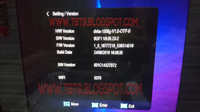 1506G 1507G MULTIMEDIA WITH VLINE OPTION  POWERVU KEY TEN SPORTS OK NEW SOFTWARE ACTIVATION CODE 1506
