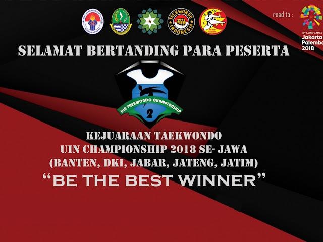 UKM Taekwondo UIN SGD Bandung Gelar Championship 2 se-Jawa