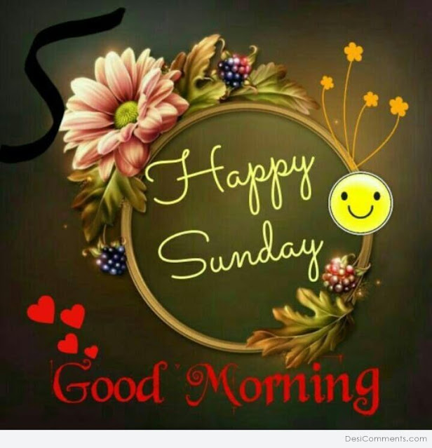 good morning sunday images for Facebook