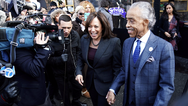 Jussie Smollett Case: Kamala Harris Ignores Questions on Hoax after Dining with Al Sharpton