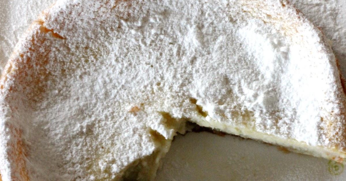 Torta...impossibile, al cocco e limone (senza lievito)