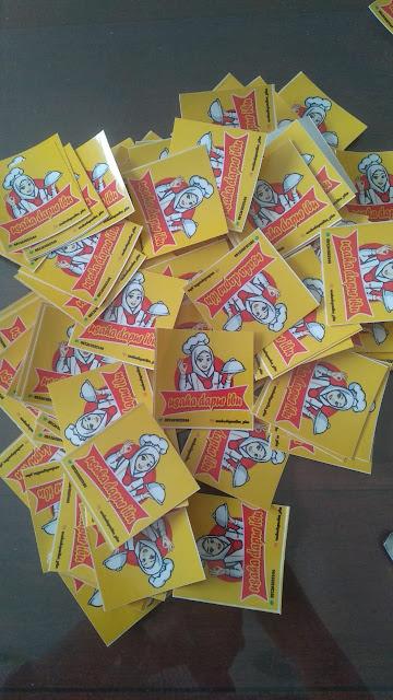 Bikin Stiker Label Makanan