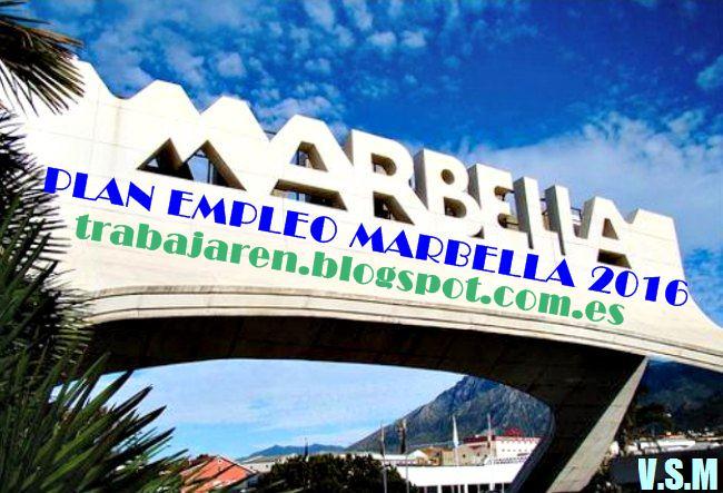 EL AYUNTAMIENTO MARBELLA NECESITA CUBRIR 200 PUESTO DE TRABAJO