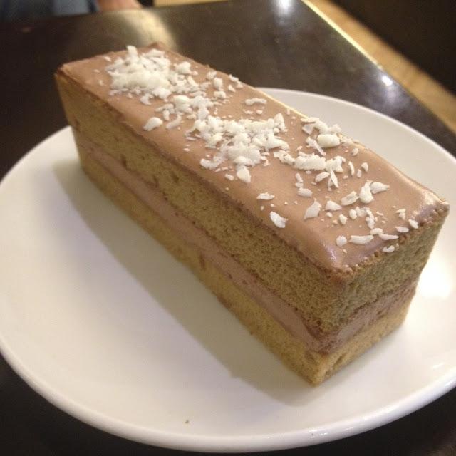 Mocha shortcake from Fujinoya Cafe