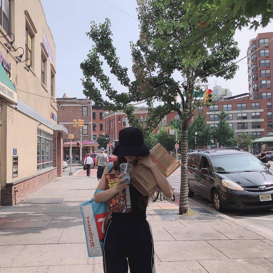 뉴욕에 간 노지선 박지원 이채영 인스타