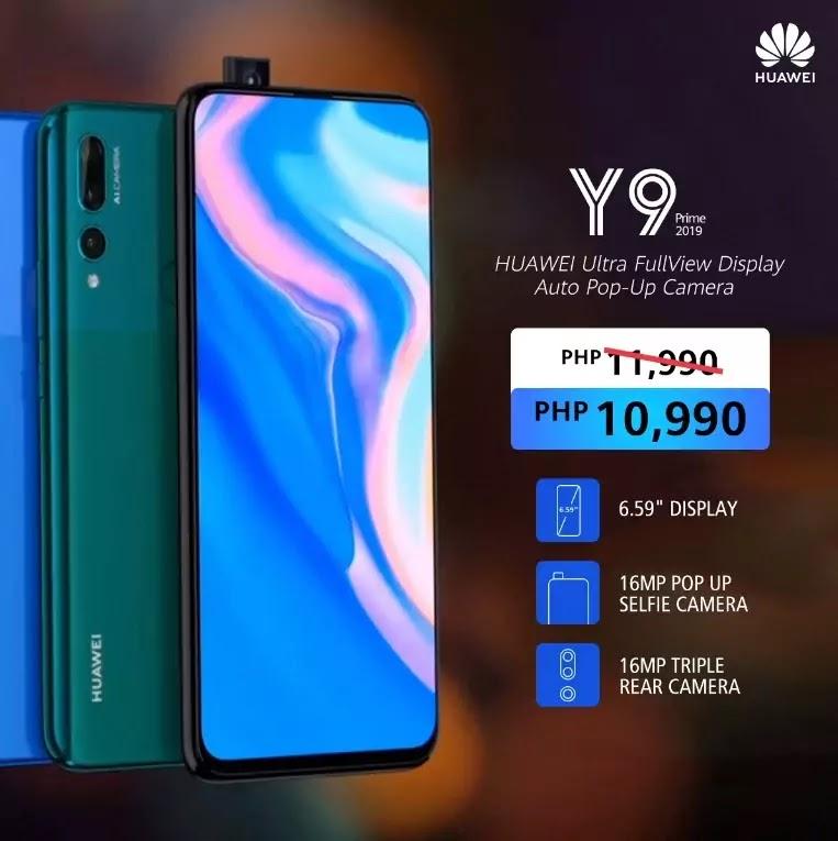 Huawei Y9 Prime 2019 Price Drop