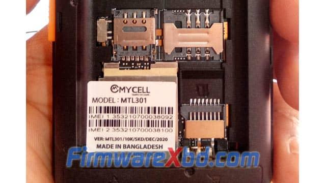 Mycell MTL301 Flash File 6531E