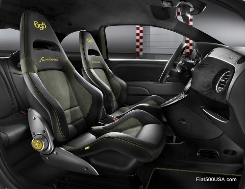 Abarth 695 'Hype' interior
