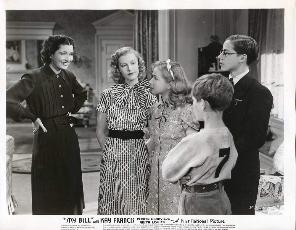 Trouble In Paradise MY BILL 1938 photos
