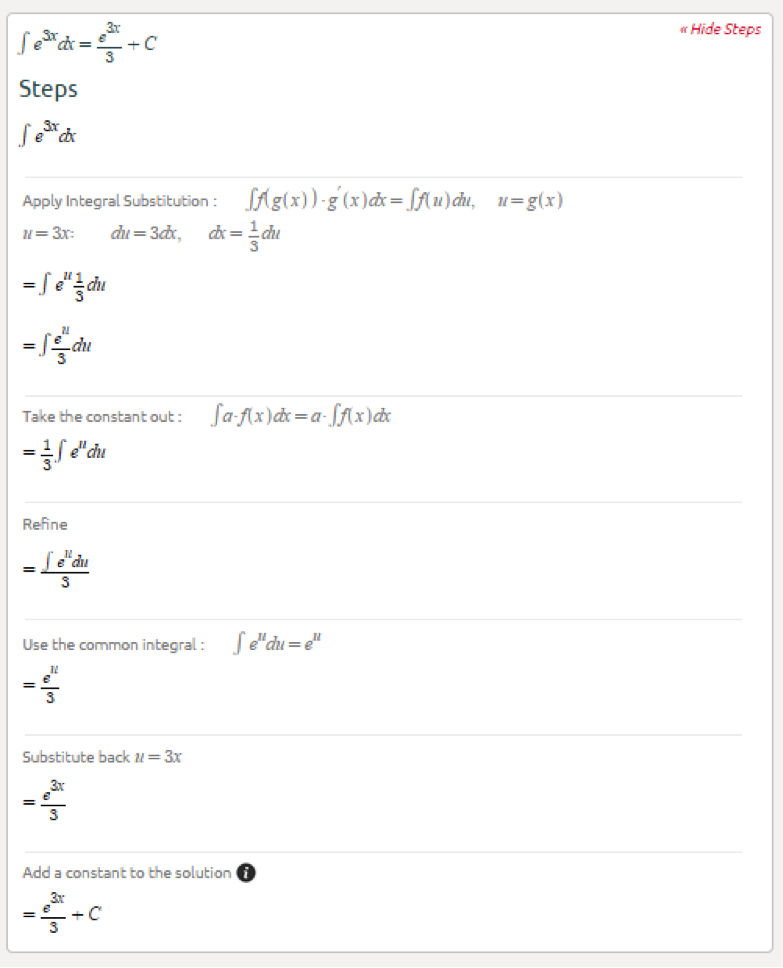 Symbolab Blog Advanced Math Solutions  Integral