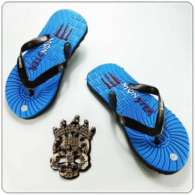 Sandal AMX Club Bola Anak - Grosir Sandal Murah