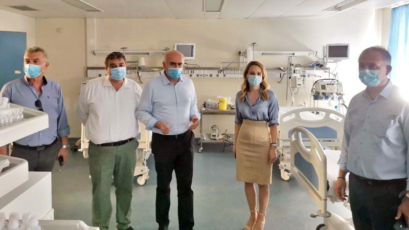 Επιπλέον 5,1 εκατ. ευρώ από το ΕΣΠΑ της Περιφέρειας ΑΜ-Θ για τον εξοπλισμό Νοσοκομείων και Κέντρων Υγείας