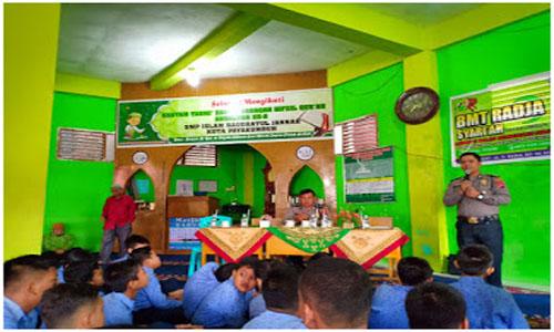 Berikan Penyuluhan, Polres Payakumbuh Datangi SMP Islam Raudhatul Jannah, Sekolah Sahabat Keluarga