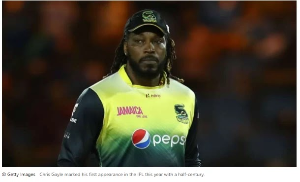 Gayle played his part as King XI knocked down the Royal Challenger again