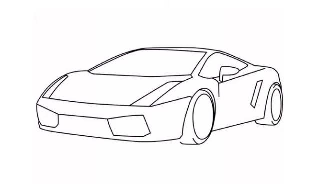 dibujos de autos deportivos faciles de hacer