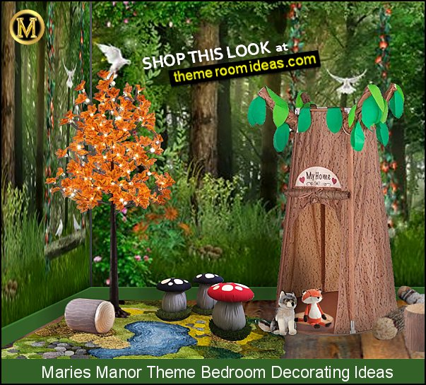 Little forest handmade 3D area rug  woodland magic forest bedrooms woodland bedroom decor enchanted forest bedroom decor