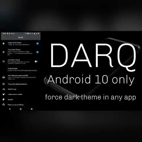 من ناحية أخرى ، تكمن أهمية هذا البرنامج وفائدته في تحويل المساحات البيضاء في التطبيقات إلى مساحة مظلمة اي الخاصية الذكية الوضع المظلم مايسمى Dark mode