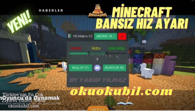 Minecraft YB Makro v2 Bansız Hız Ayarı Hileli SonOyuncu CRAFTRİSE