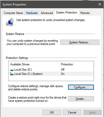 استخدم استعادة الإصدارات السابقة لاستعادة الملفات المفقودة 3