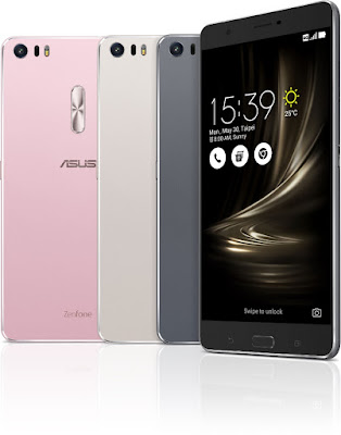 Asus ZenFone 3 Ultra Colours