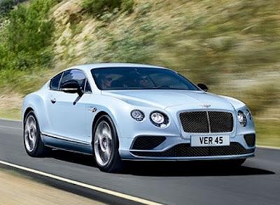 Bentley Continental GT: 500 horsepower