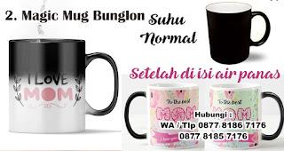 Magic Mug Bunglon untuk Hadiah Ulang Tahun mama