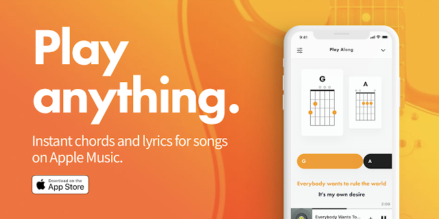 Fenders New App Provides Instant Chords And Lyrics For Songs On Apple Music