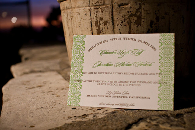 a guide to wording wedding invitations | wedding invitation of Chandra of Oh Lovely Day by Tilde Designs