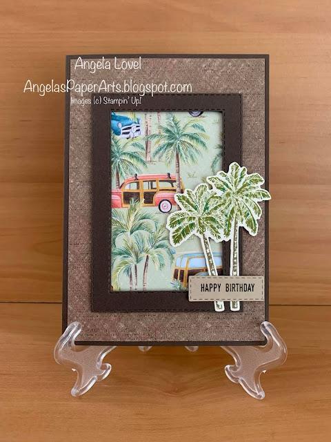 Angela Lovel, Angela's PaperArts: SU Timeless Tropical birthday card