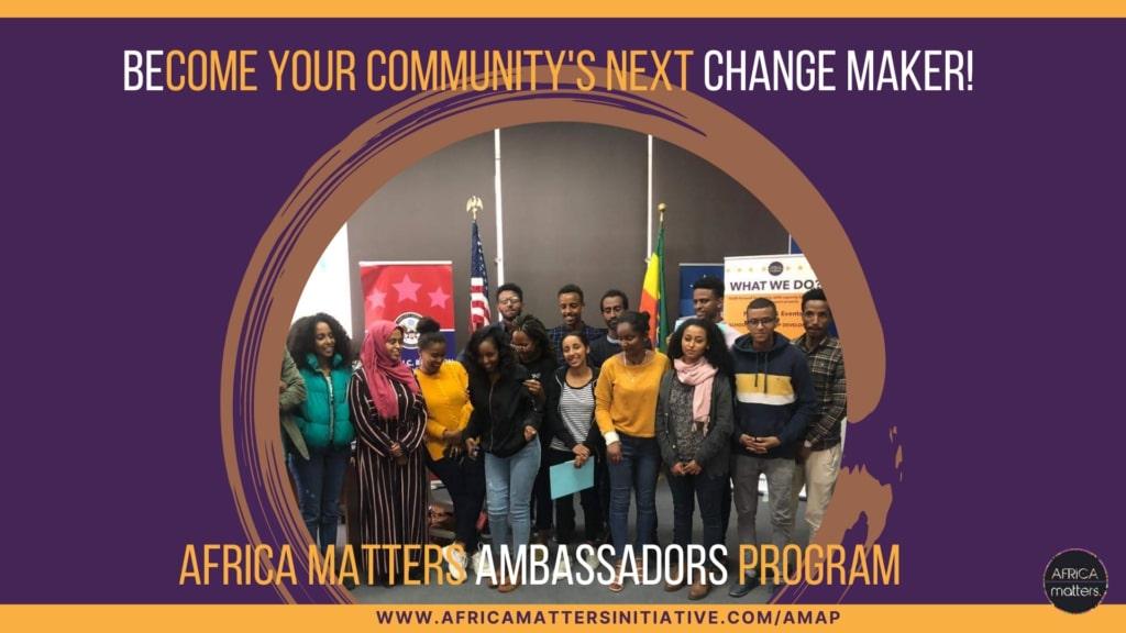 Programme des ambassadeurs Africa Matters (AMAP) 2022 pour les jeunes leaders africains