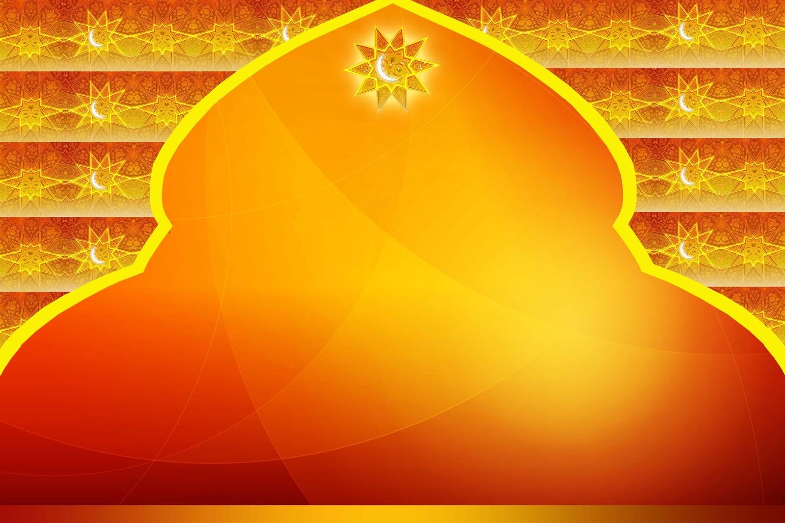 background islami coklat