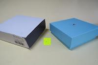 Verpackung öffnen: Neoglory Jewellery mit Swarovski® Elements Armreif Schmetterling rosa und blau