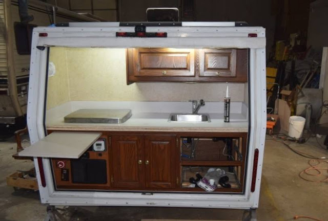 Tiny Trailer Camping, RV Repair