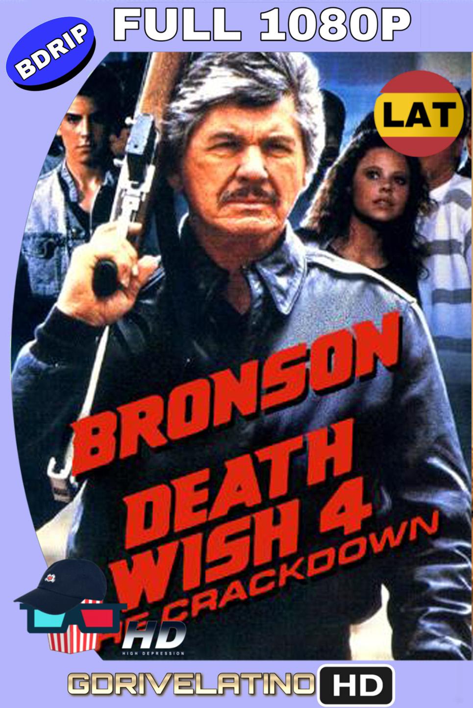 El Vengador Anónimo 4: El Regreso Del Justiciero (1987) BDRIP 1080p (60 FPS) Latino Inglés MKV