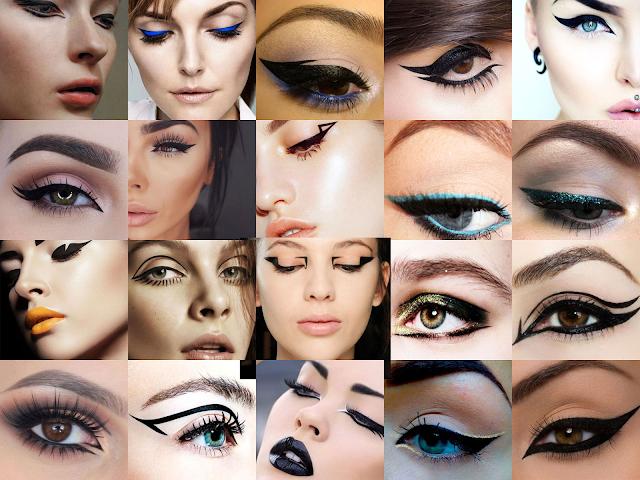 Ide Pemakaian Eyeliner