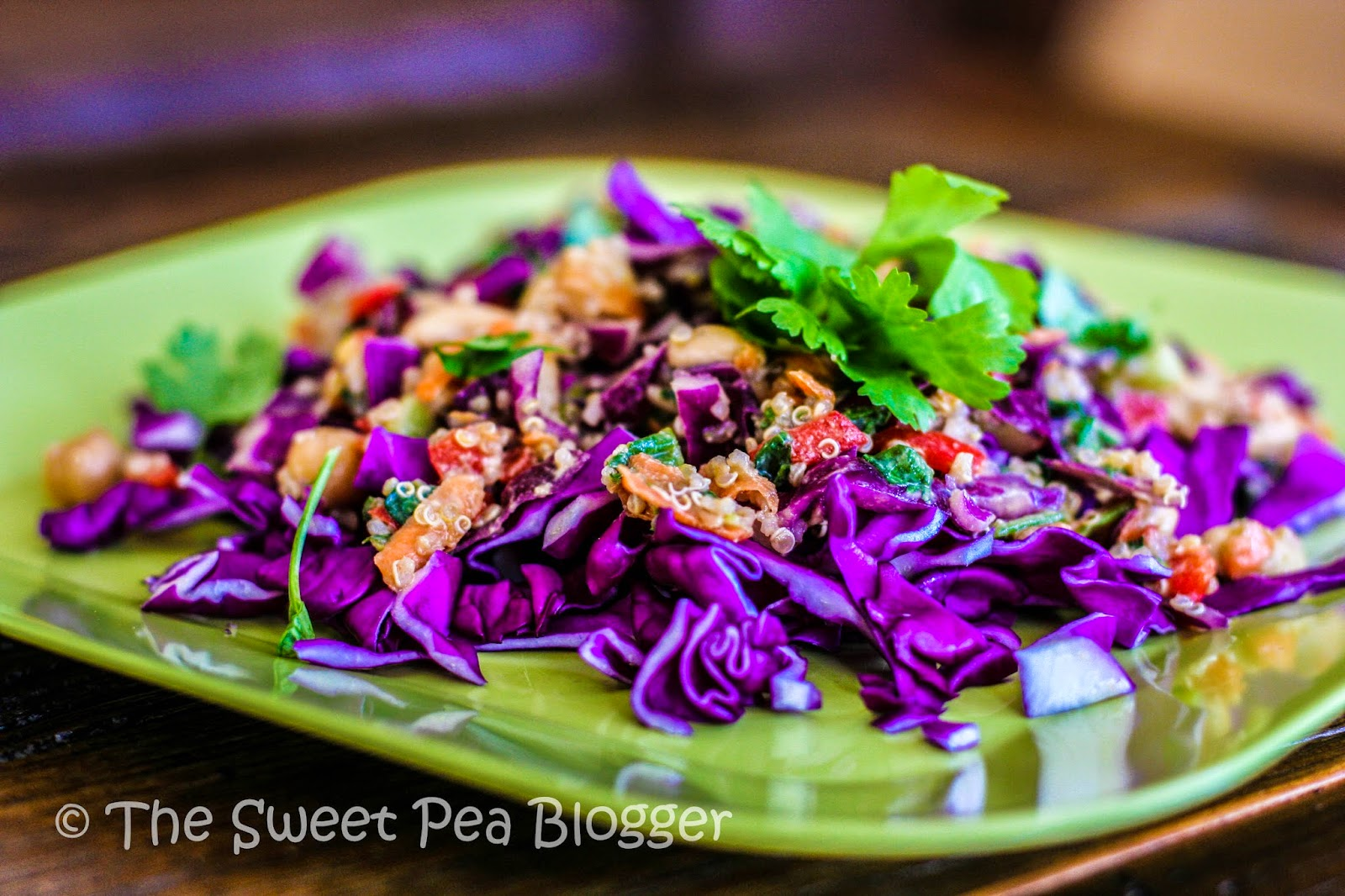 Thai Quinoa Cabbage Salad