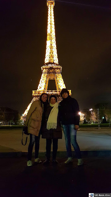 Torre Eiffel - Paris - Transfer em Paris em português - Telma France Tour
