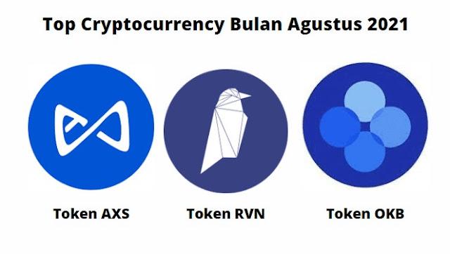 Tiga Cryptocurrency Terbaik Bulan Agustus 2021