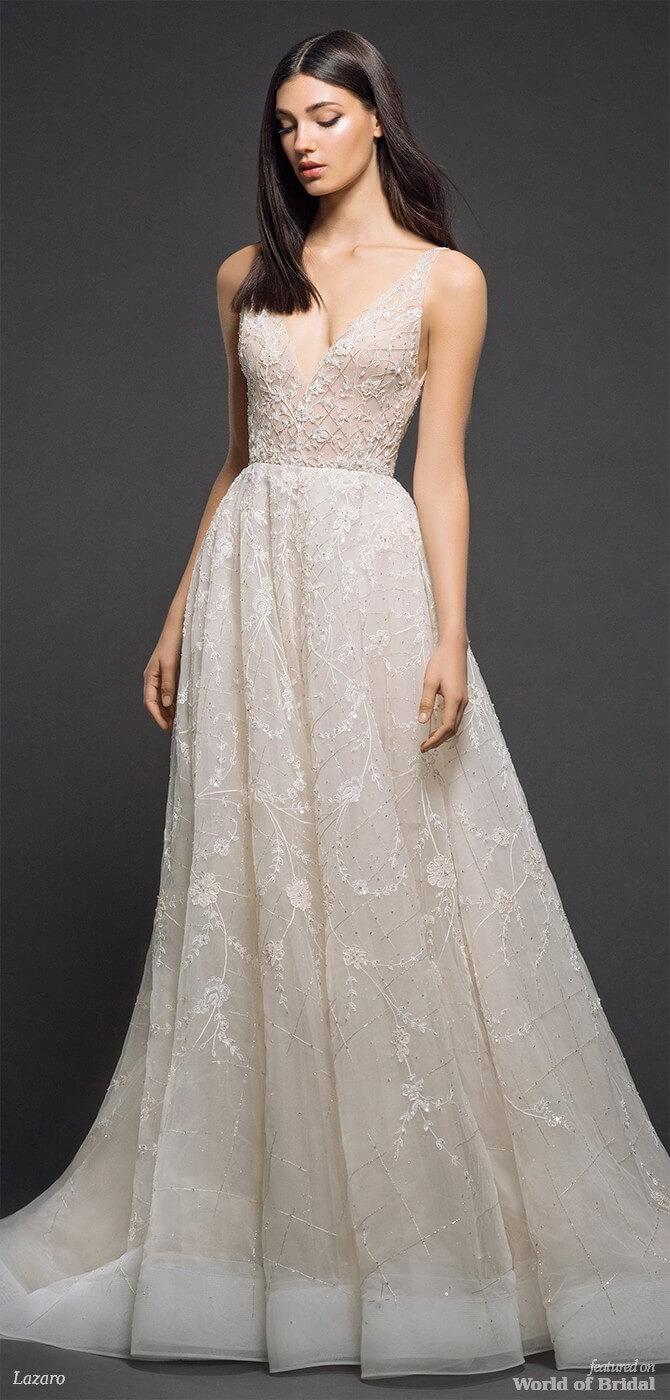 Lazaro Spring 2018 Bridal Collection - World of Bridal