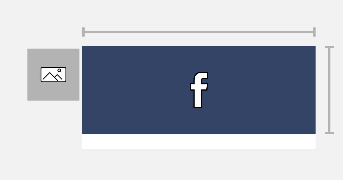 wymiarowanie zdjęcia w tle strony facebook