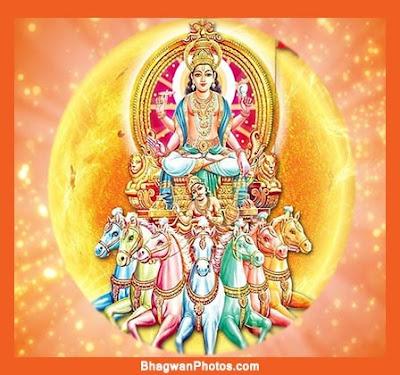Lord Surya Wallpaper