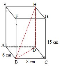Cara Mencari Panjang Diagonal Ruang Balok