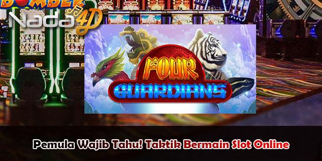 Pemula Wajib Tahu! Taktik Bermain Slot Online