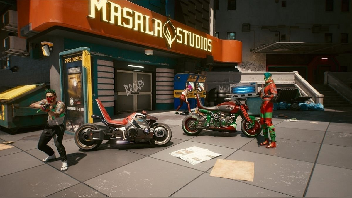 The group values cool bikes