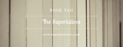 The Superlatives Book Tag