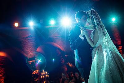 foto sposi ballo